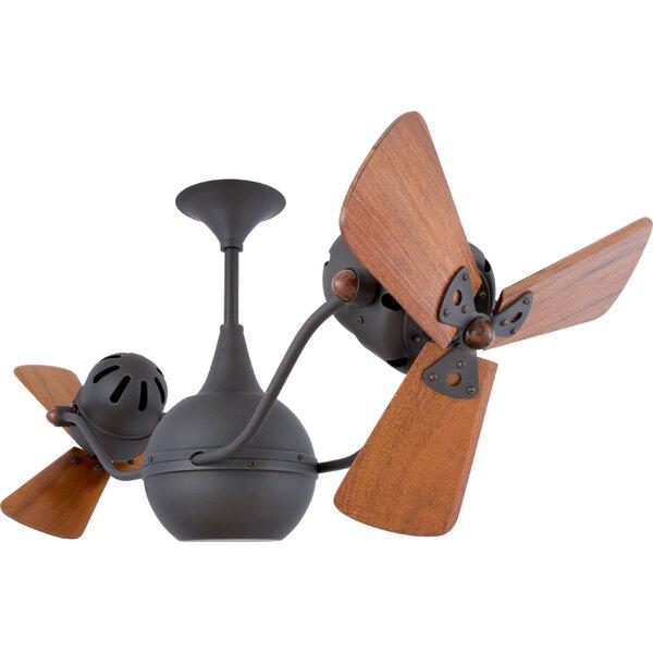 42 Vent-Bettina 3 Blade Ceiling Fan by Matthews Fan Company