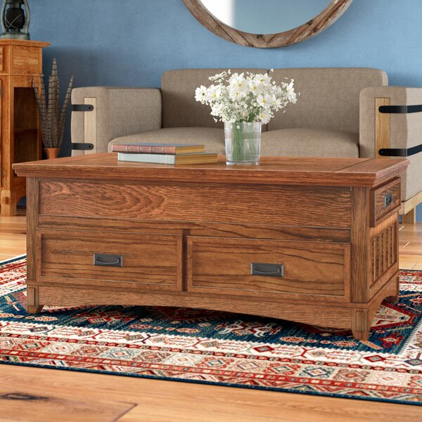 Barrett Coffee Table with Lift Top by Loon Peak