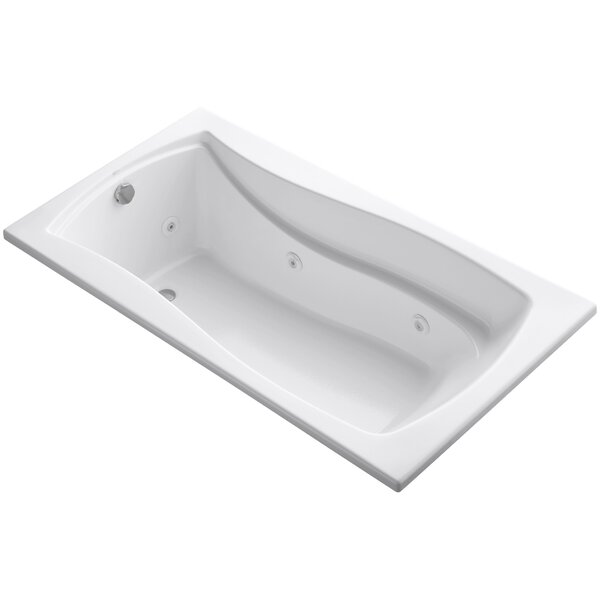 Mariposa 66 x 36 Whirlpool Bathtub by Kohler