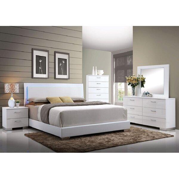 Templeman Upholstered Standard Bed by Orren Ellis