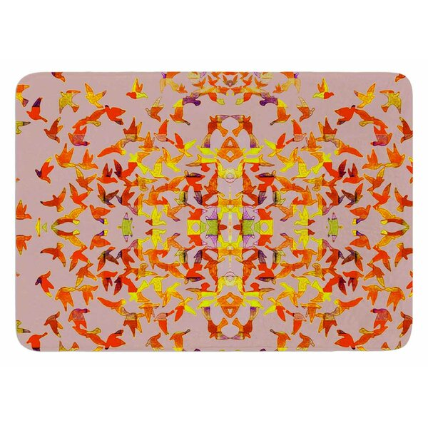Flying Birds by Marianna Tankelevich Bath Mat by East Urban Home
