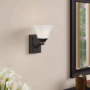 Reviews By rdhill 1-Light Wall Sconce By Three Posts