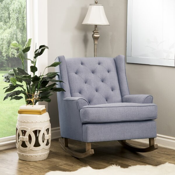 Baxendale Rocking Chair by Gracie Oaks