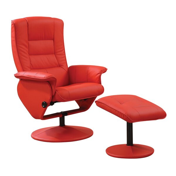 Hentz Swivel Lounge Chair and Ottoman by Latitude Run Latitude Run