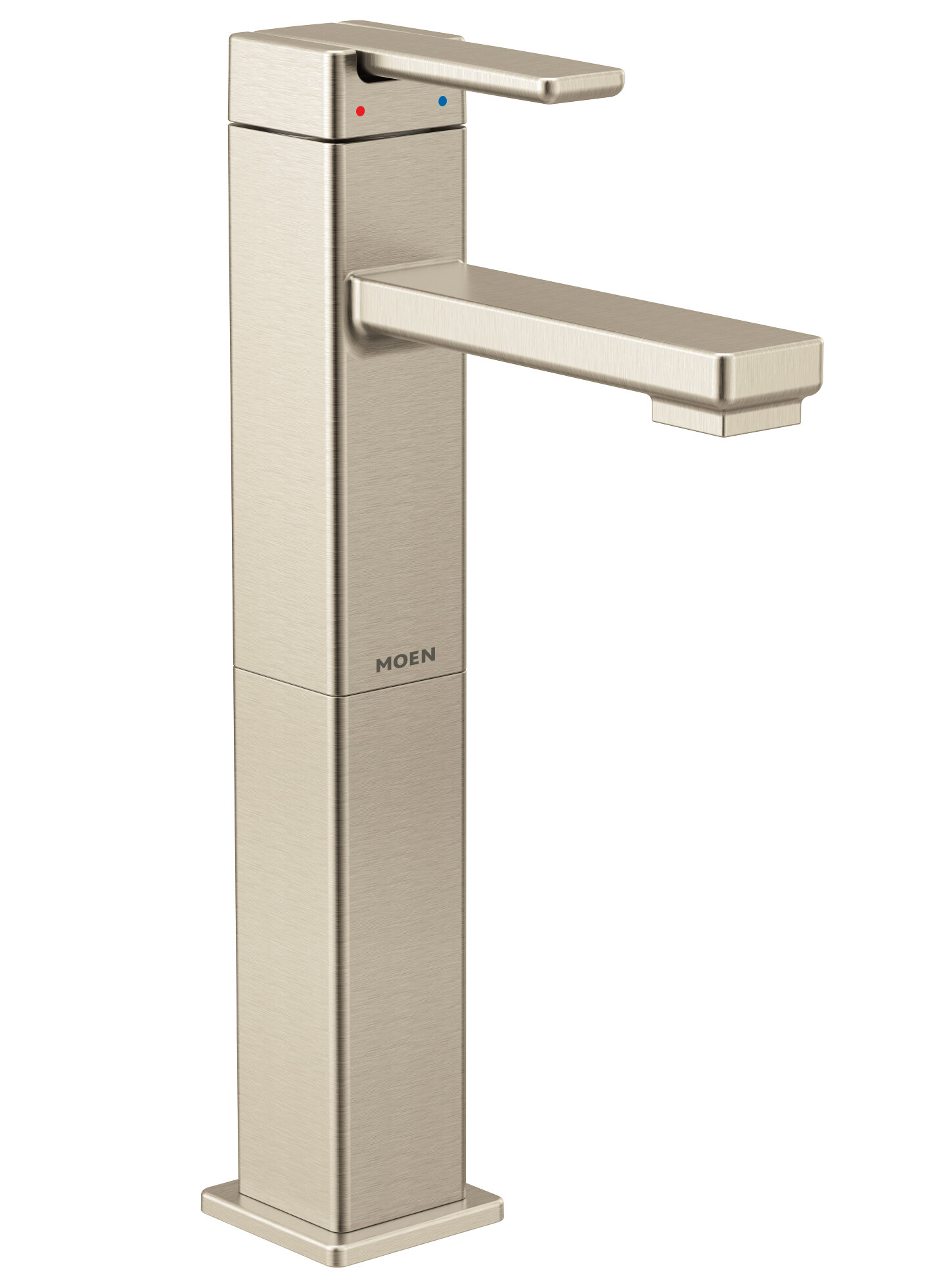 90 Degree Vessel Sink Bathroom Faucet with Drain Assembly