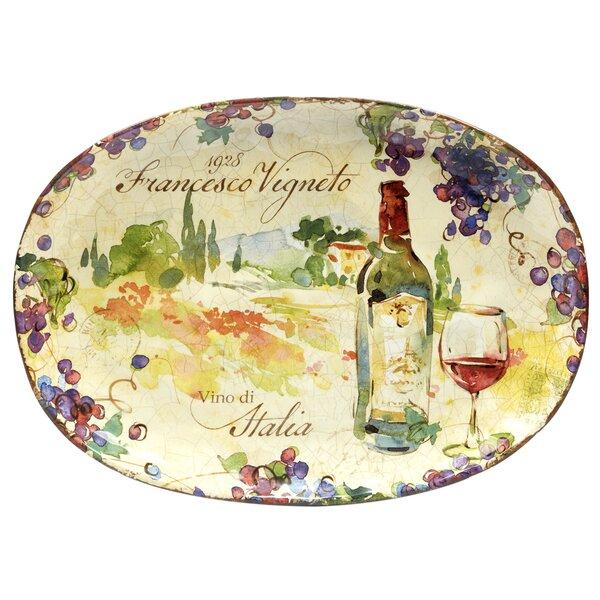 Carmel Oval Platter by Fleur De Lis Living