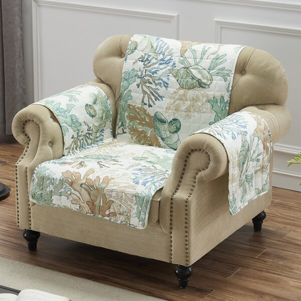 Box Cushion Armchair Slipcover By Highland Dunes