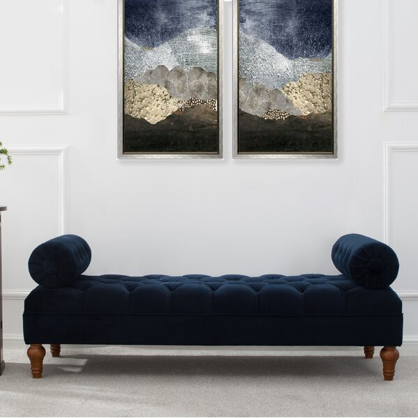 Tito Upholstered Bench by Willa Arlo Interiors