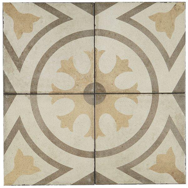 8 x 8 Porcelain Field Tile in Circolo by Itona Tile