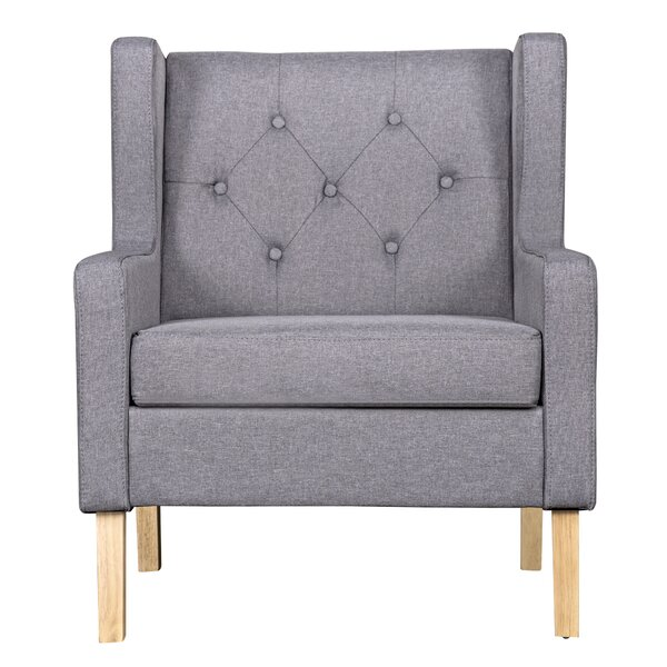 Kingsteignt Armchair by Gracie Oaks