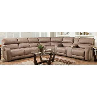 Red Barrel Studio Akul 94 5 Wide Symmetrical Reclining Corner Sectional Wayfair