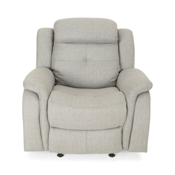 Anndale Traditional Manual Glider Recliner by Latitude Run