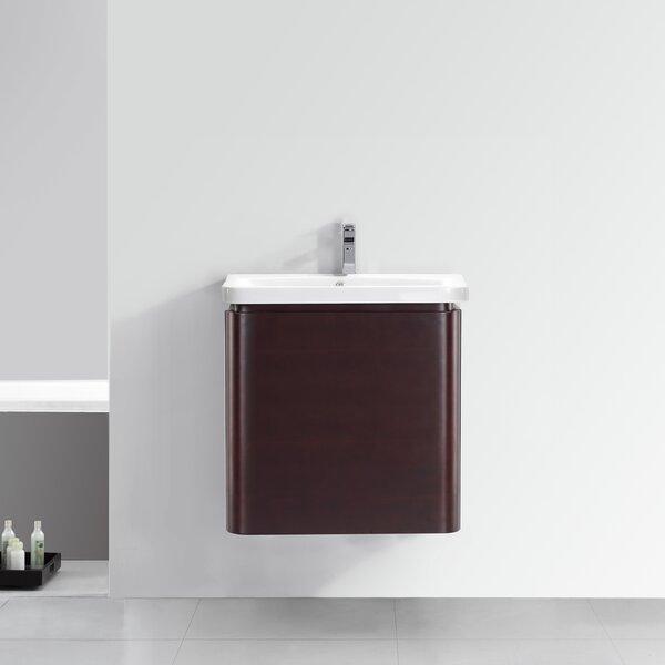 28 Single Wall-Hung 2 Drawer Vanity Set