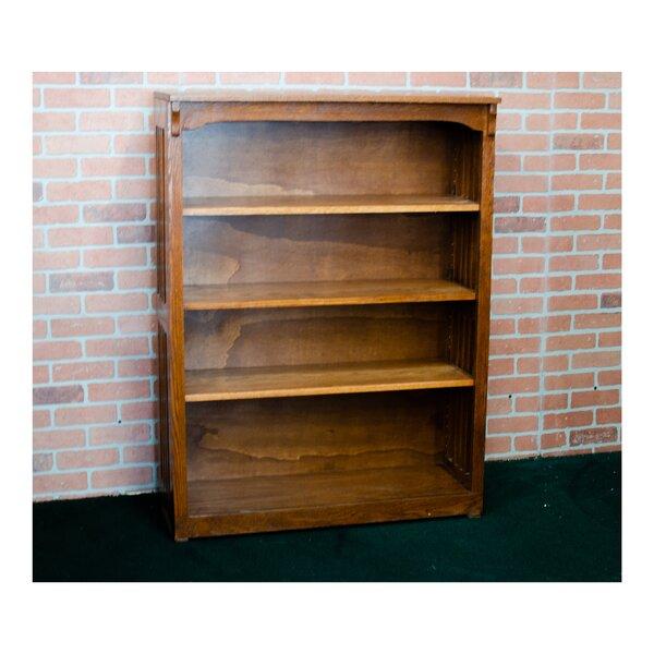 Revilla Oaks Spindle Standard Bookcase By Alcott Hill