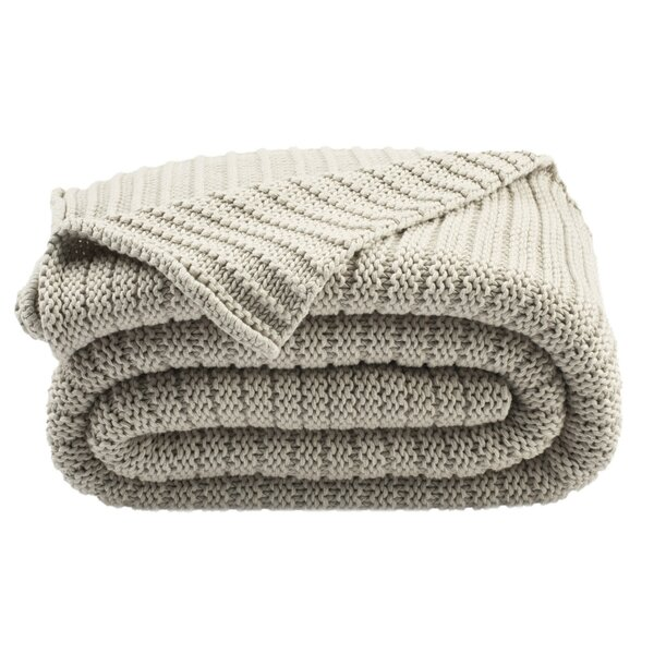 Ares Knit Cotton Throw by Ophelia & Co.