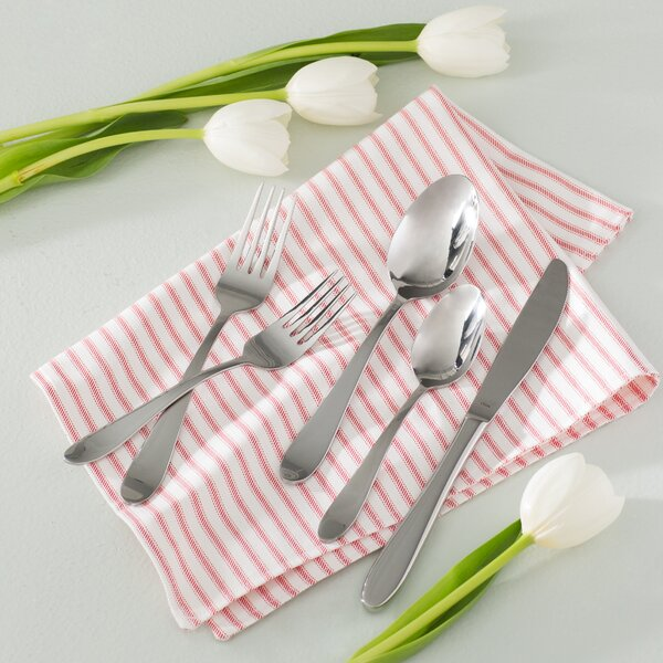 Lyon Grand 20 Piece Flatware Set, Service for 4 by Andover Mills