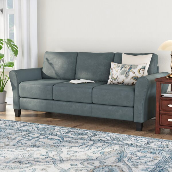 Best #1 Celestia Rolled Arm Sofa By Andover Mills New Design