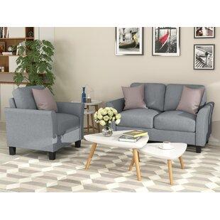 Amielia 2 Piece Living Room Set by Red Barrel Studio®