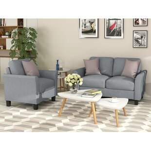 Bethanney 2 Piece Living Room Set by Red Barrel Studio®