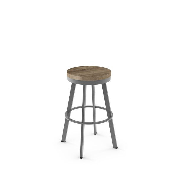 Floumoy 29 Swivel Bar Stool by Gracie Oaks