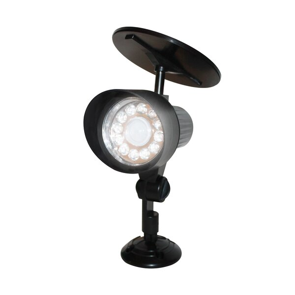 Motion Sensor Solar 12-Light LED Spot Light by EcoThink™