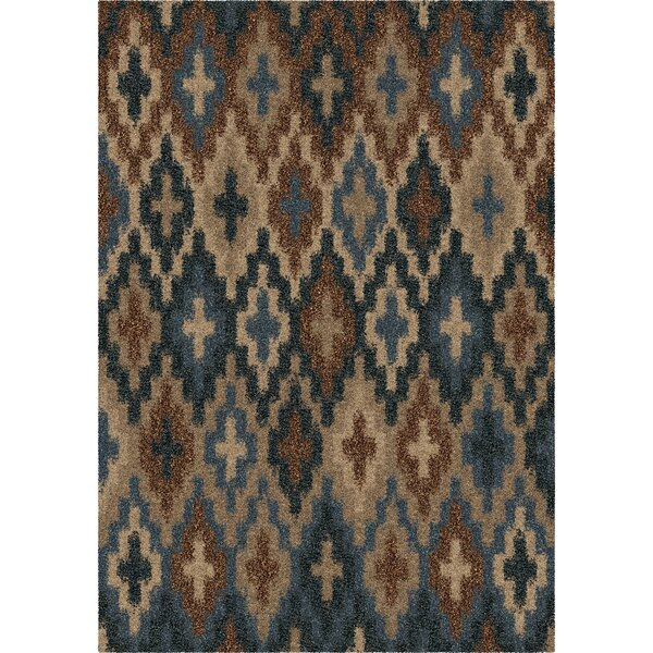 Lawson Blue Area Rug by Threadbind