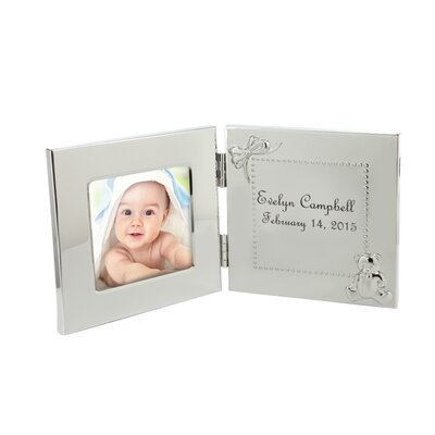 Monogramonline Inc Personalized Hinged Baby Picture Frame Wayfair