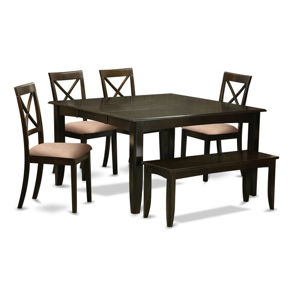 Pilning 6 Piece Dining Set by August Grove