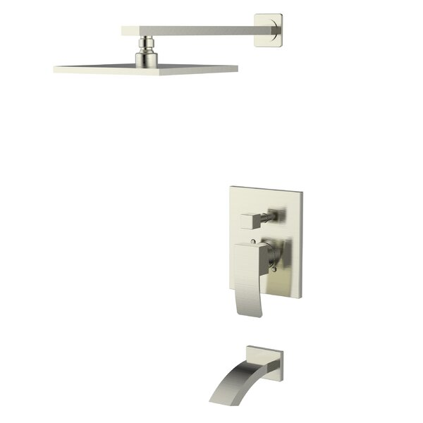 Concealed Volume Shower Faucet With Rough-in Valve By UCore