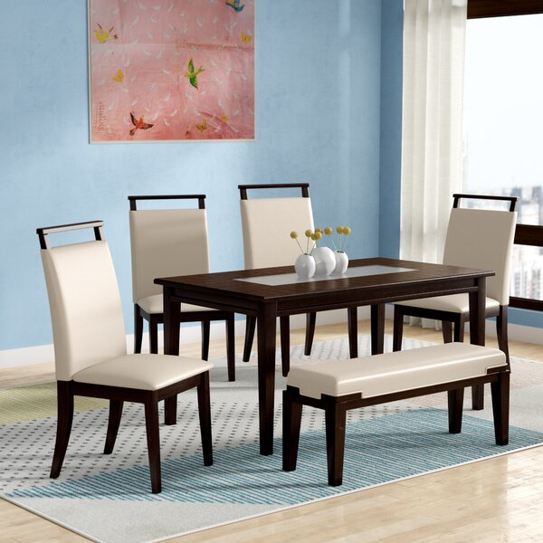 Depew 6 Piece Dining Set by Latitude Run