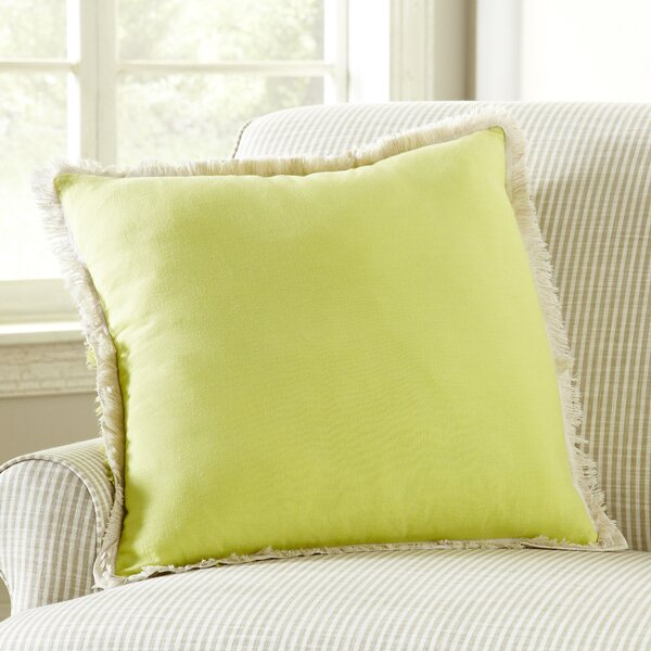 Fringed Pillow Cover by Birch Lane™