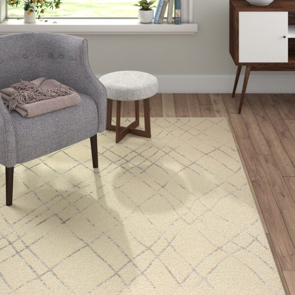 Danvers Ivory/Grey Area Rug by Langley Street