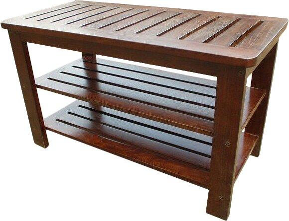 Sartell Wood Storage Bench by Latitude Run