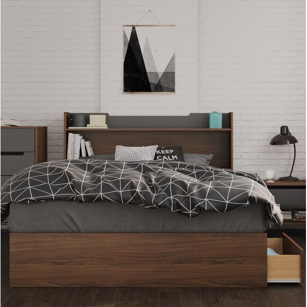 Yokota Storage Platform Bed by Brayden Studio