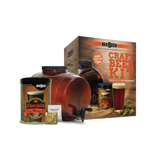 Mr. Beer Churchills Nut Ale Beer Making KIt by Mr. Beer