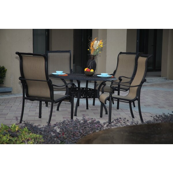 Bagwell 5 Piece Dining Set by Darby Home Co