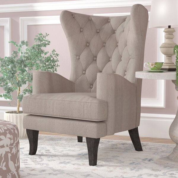 Patridge Wingback Chair by One Allium Way