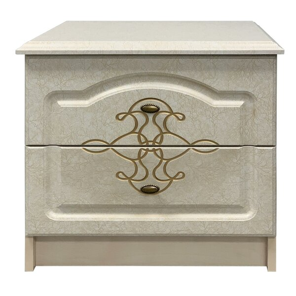 Preble 2 Drawer Nightstand by House of Hampton