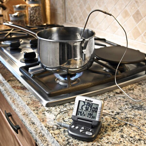 Classic Digital in-oven Thermometer / Timer by Polder Products LLC