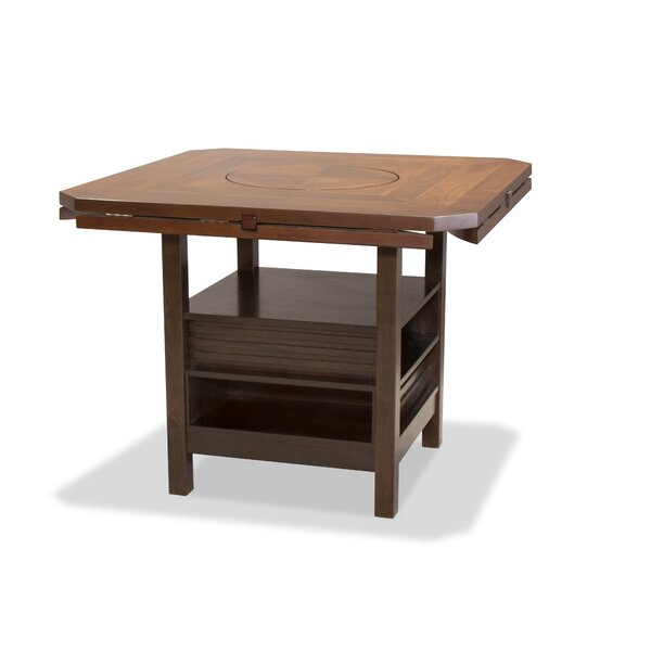 Spindler Counter Drop Leaf Dining Table by Winston Porter