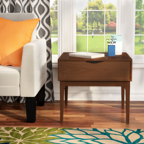 Denzel End Table by Modern Rustic Interiors