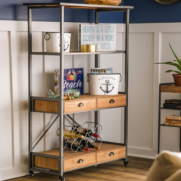 Dovenby Foldable Etagere Bookcase by Gracie Oaks