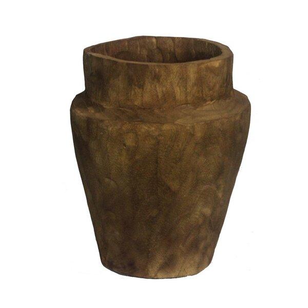 Ehrenfeld Wood Pot Planter by Bloomsbury Market