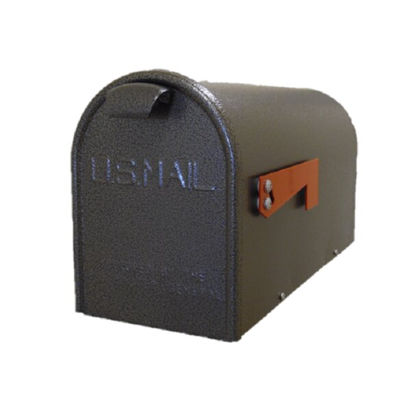 New Age Bronze Newport Post Mounted Mailbox by GDM Mailbox Company