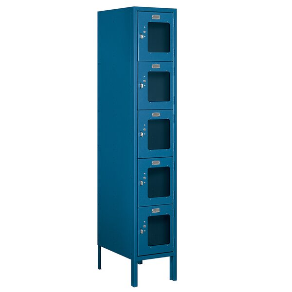 5 Tier 1 Wide Employee Locker by Salsbury Industri