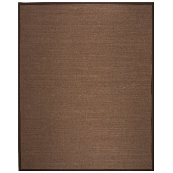 Monastiri Brown Area Rug by Bay Isle Home