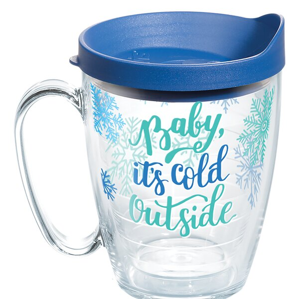 Baby Its Cold Outside 16 oz. Plastic Travel Tumbler by Tervis Tumbler