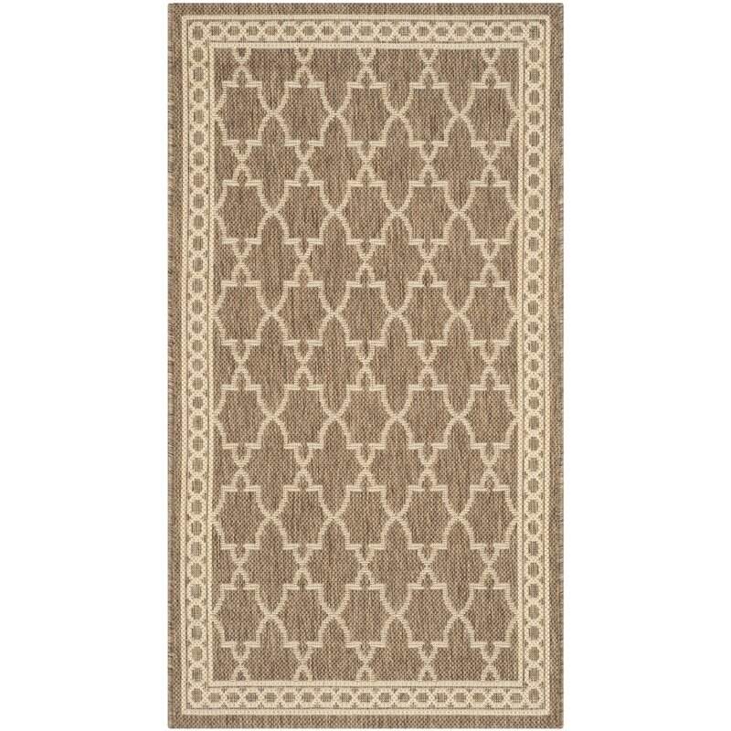 Sol 72 Outdoor Larson Beige Indoor Outdoor Area Rug