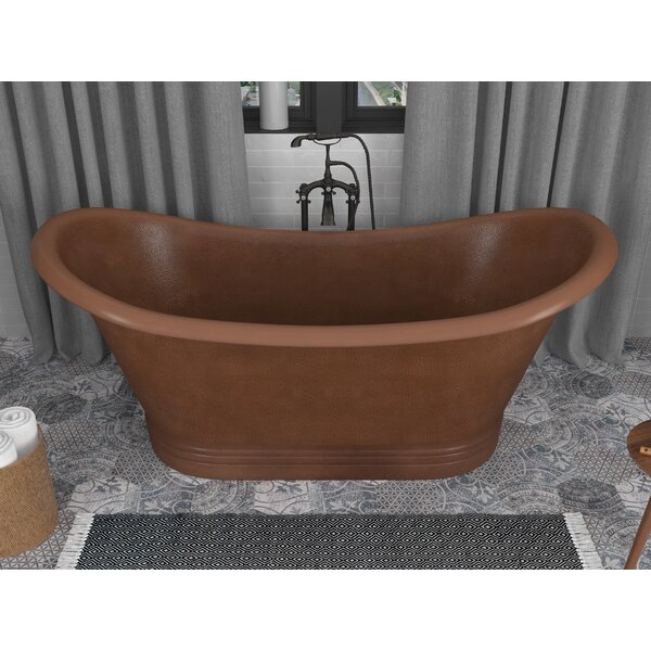 Sumatra 70 x 30 Freestanding Soaking Bathtub by ANZZI