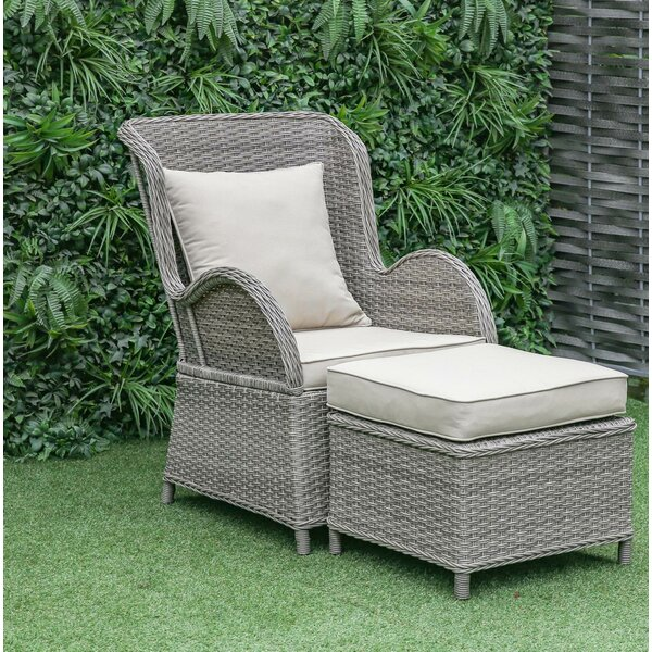 Silke Patio Chair With Cushion By One Allium Way